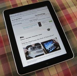 iPad foto van Peter Morville